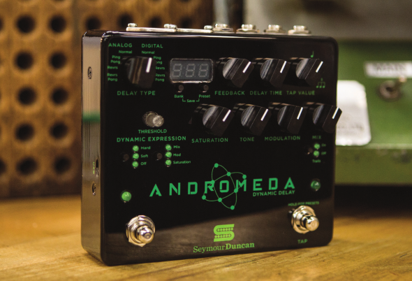 NAMM 2017: Seymour Duncan Releases New Delay Pedal & Power Amps!