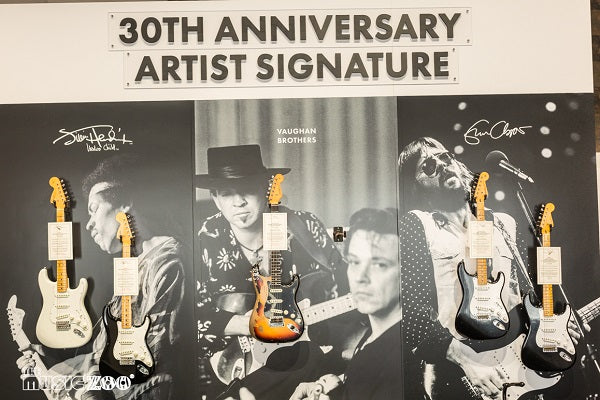 LIMITED EDITION 30TH ANNIVERSARY ERIC CLAPTON STRATOCASTER - JOURNEYMAN RELIC BLACK