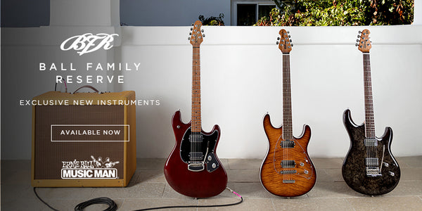 New Limited Edition Music Man Ball Family Reserve Models for February!