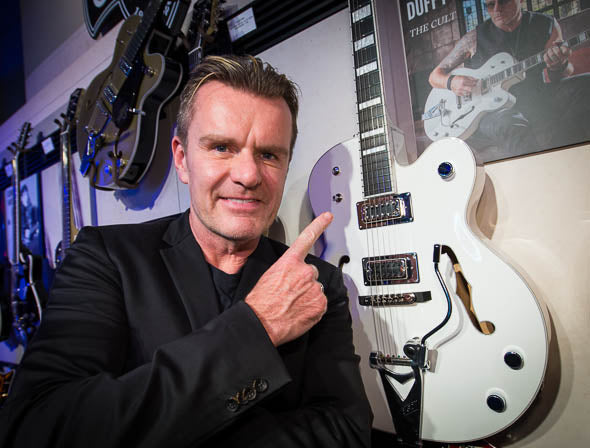 Billy Duffy NAMM 2013