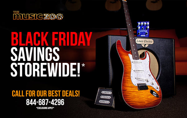 Black Friday Savings Storewide - The Music Zoo
