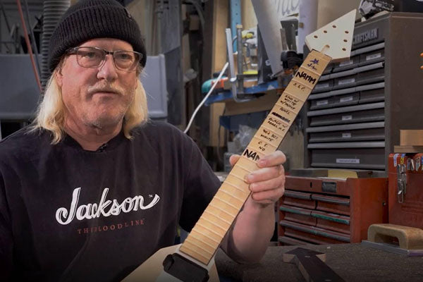 NAMM 2020: Jackson Custom Shop 0001 Masterbuilt by Mike Shannon Coming To The Music Zoo!