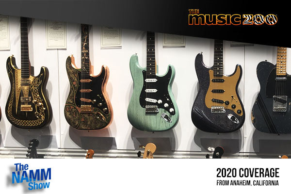 NAMM 2020 Fender Custom Shop Masterbuilt Guitars Unveiled! View a Photo Gallery Of Every Masterbuilt Guitar!