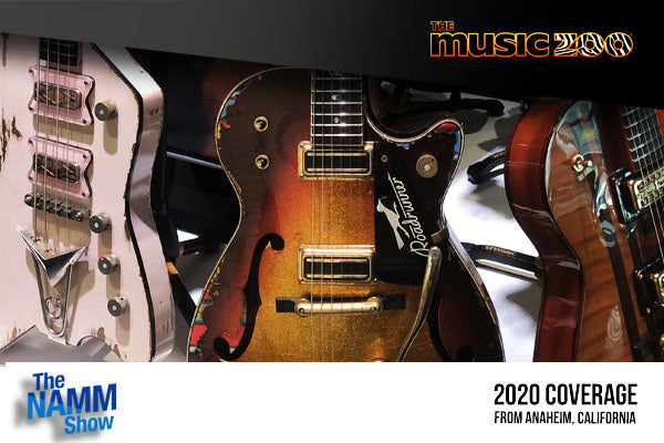 NAMM 2020: Gretsch Custom Shop Guitars Unveiled! View a Photo Gallery Of Every Gretsch Custom Shop Guitar!