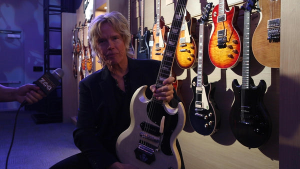 Brian Ray at NAMM 2019 - The Music Zoo