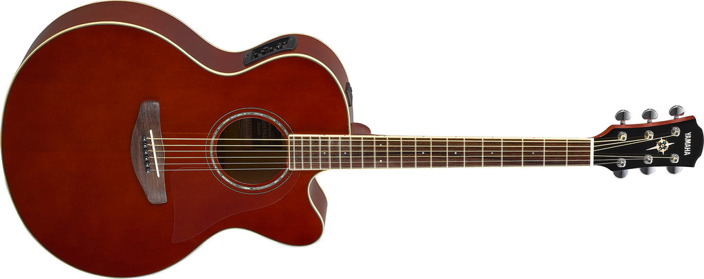 NAMM 2018: New Yamaha APX600 & CPX600 Thinline Series Acoustic Guitars