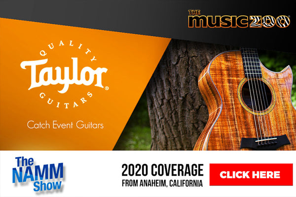 NAMM 2020: Taylor Custom Shop Guitars Unveiled! View a Photo Gallery Of Every Taylor Custom Shop Guitar!