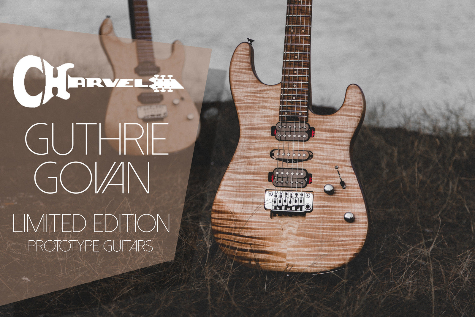 Charvel Guthrie Govan Limited Edition Prototype Signature