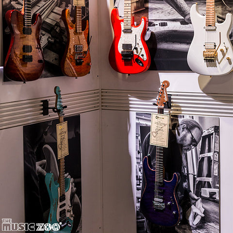 NAMM 2018: Charvel Custom Shop Event Masterbuilt Show Pieces