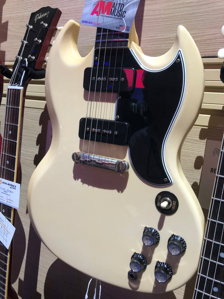 '63 SG Special White - The Music Zoo