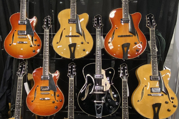 NAMM 2020: Comins Guitars Is Bringing Affordable and Excellent Playing Jazz Guitars to The Music Zoo!