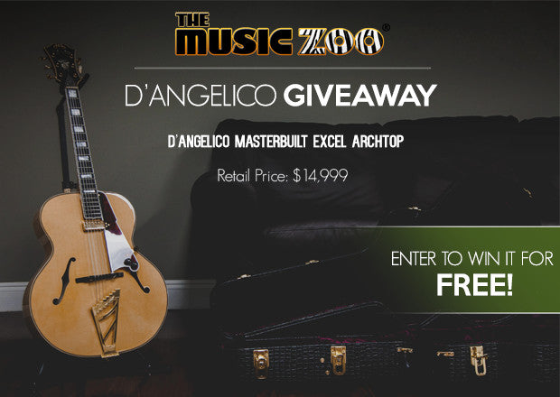 Premier Guitar D'Angelico Masterbuilt Excel Archtop Giveaway