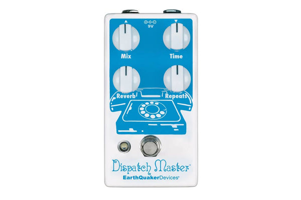 Earthquaker Devices Dispatch Master V3 Delay/Reverb Pedal Announced!
