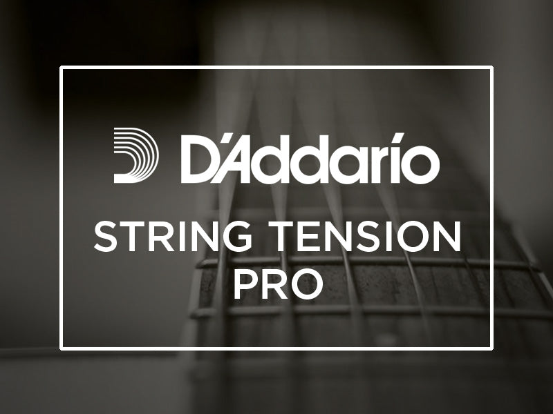 D'Addario Introduces String Tension Pro Web Application