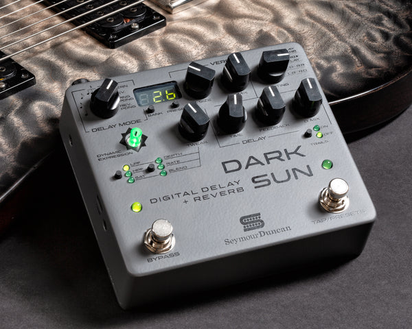 Seymour Duncan Dark Sun Pedal NAMM 2019 The Music Zoo