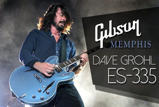 Gibson Memphis Dave Grohl Signature ES-335 | The Music Zoo