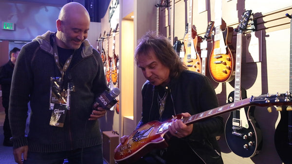 Dave Amato at Gibson NAMM 2019 - The Music Zoo