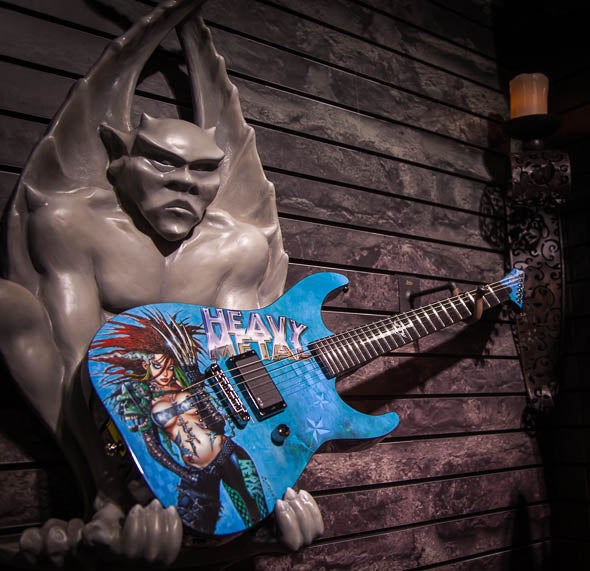 Photo Gallery: ESP and LTD Graphic Guitars