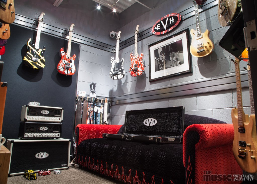 An EVH Experience At The Music Zoo