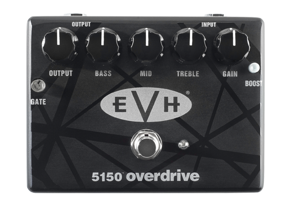 MXR Introduces The New EVH 5150 Overdrive