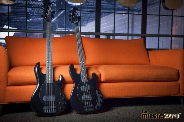 New At The Zoo! Ernie Ball Music Man Stealth StingRay Basses