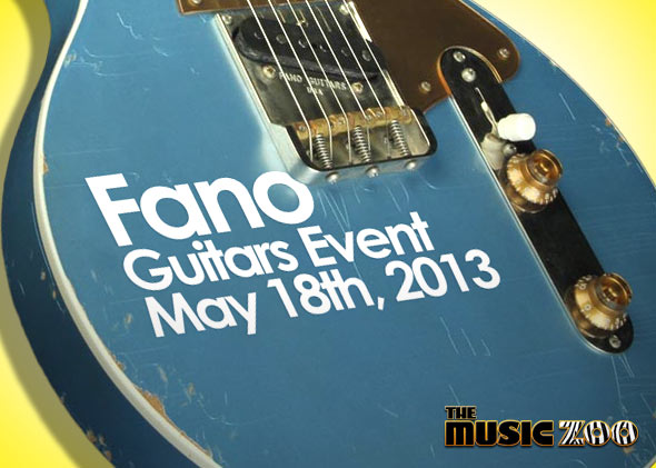 May 18th: Meet Dennis Fano, Win A Free Guitar | The Music Zoo