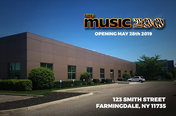 The Music Zoo Farmingdale Moving May 28th