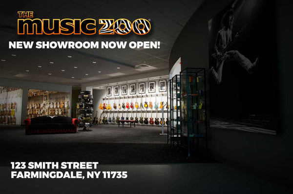 The Music Zoo Has Moved to Farmingdale New York – Visit Our Brand New Showroom Open Now!
