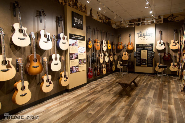 The Music Zoo Farmingdale new showroom Now Open