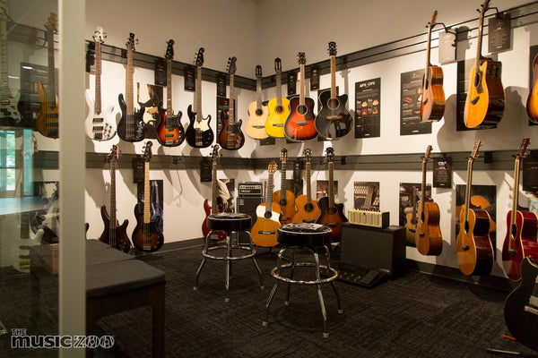 The Music Zoo New Showroom Now Open
