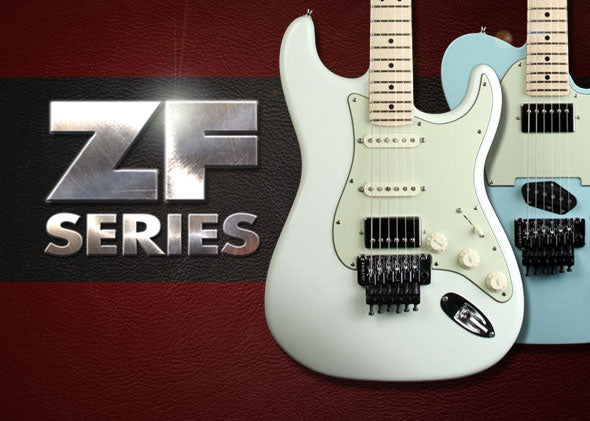 Latest Music Zoo Custom Run: Fender ZF Series