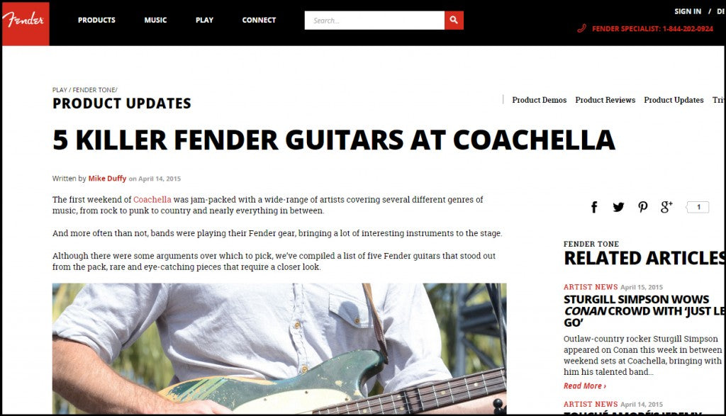 Fender article