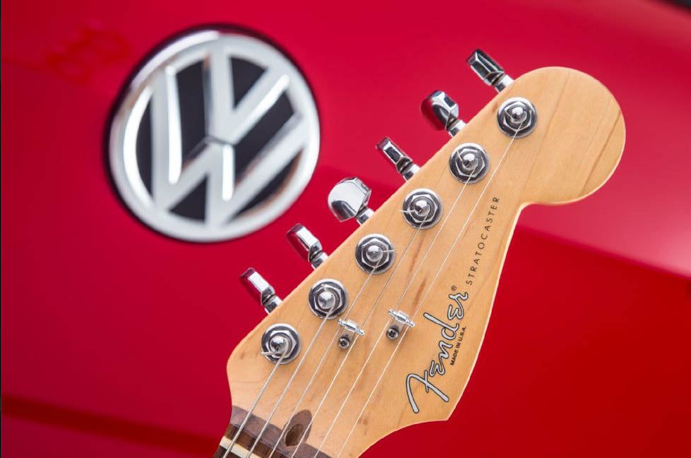 Motor Trend Showcases The New VW GTI And The Fender Audio System