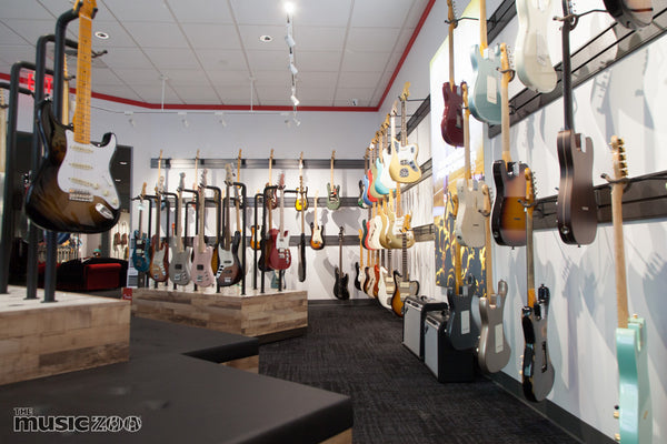 Fender Farmingdale Showroom The Music Zoo