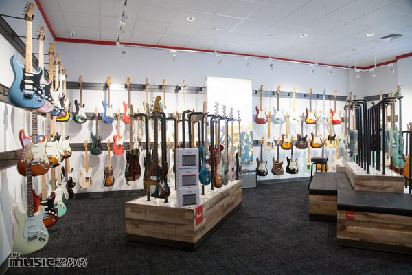 Fender Showroom Farmingdale The Music Zoo