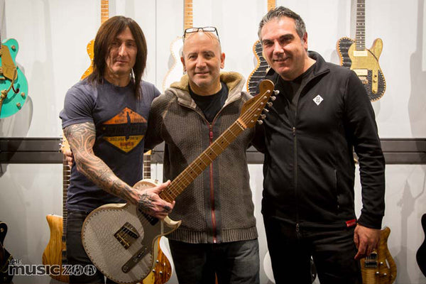 Recap: Paoletti Guitars Clinic with Richard Fortus of Guns N' Roses!