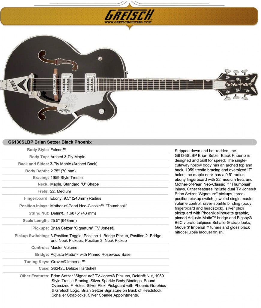 G5191MS Tim Armstrong Electromatic® Hollow Body
