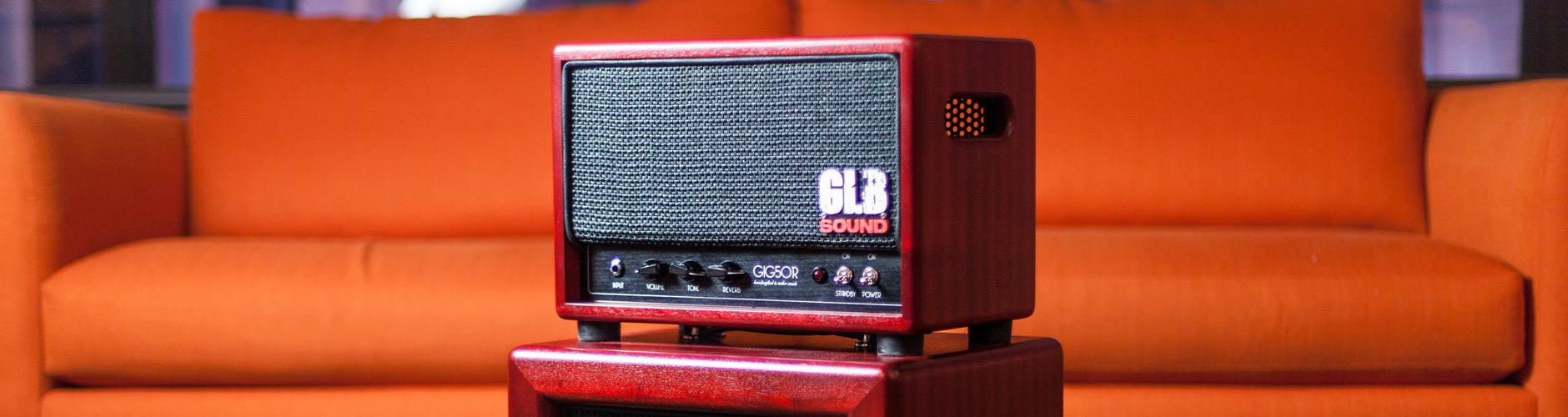 GLB Sound Amplifiers At The Music Zoo
