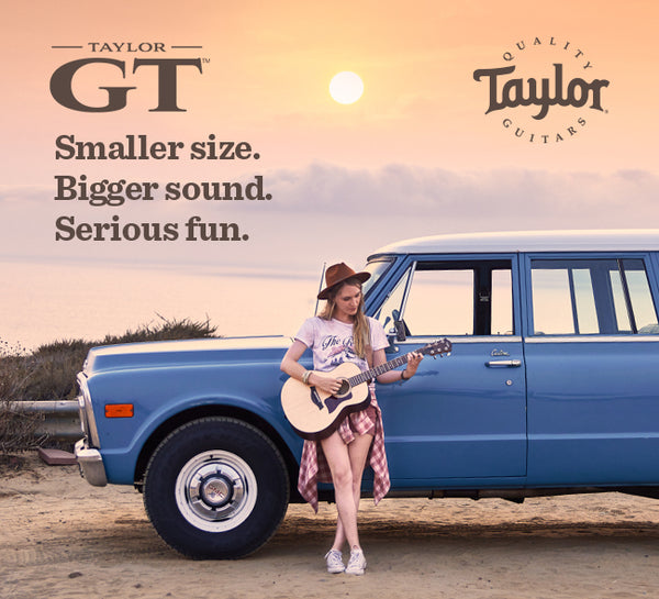 Introducing the New Taylor GT Grand Theater Body Shape! Pre-Order Yours Now!