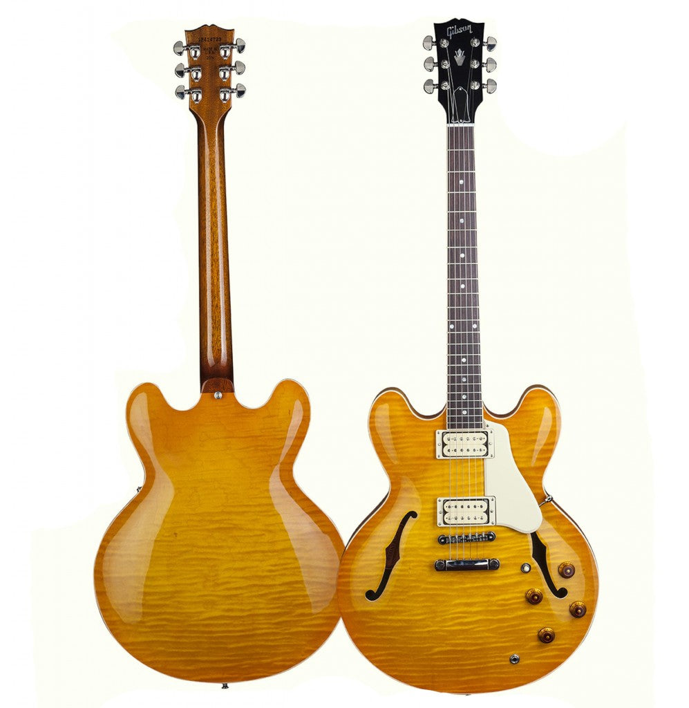 Gibson ES-335 Lemonburst Full View