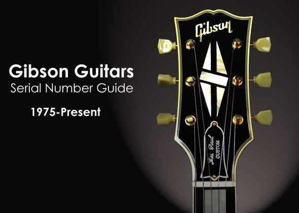 Gibson And Epiphone Guitars Serial Number Guide The Music Zoo