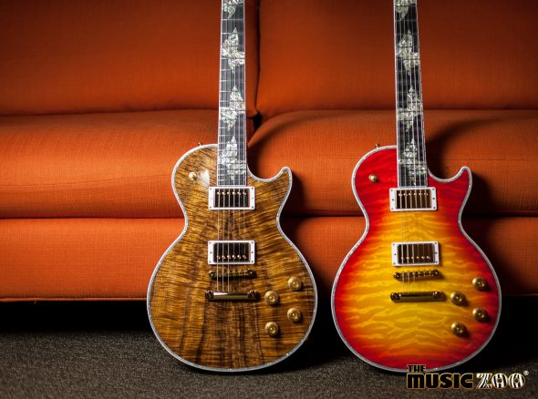 "New Arrivals! Gibson Custom Shop Les Paul Ultima ""Butterfly"" Guitars!"