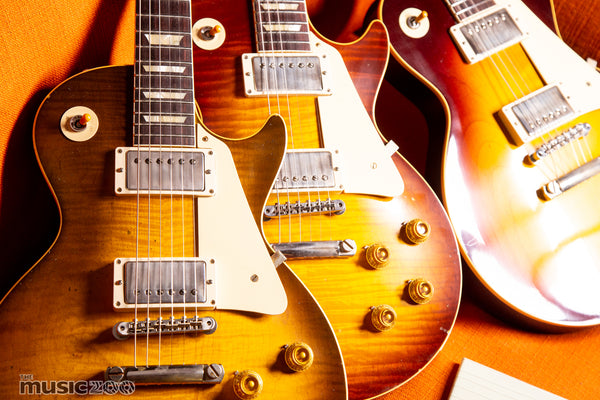 Gibson Custom Shop Murphy Labs Aging Levels: What's the difference?
