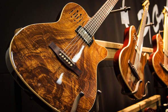 Limited Edition Godin Figured Koa A6 Ultra