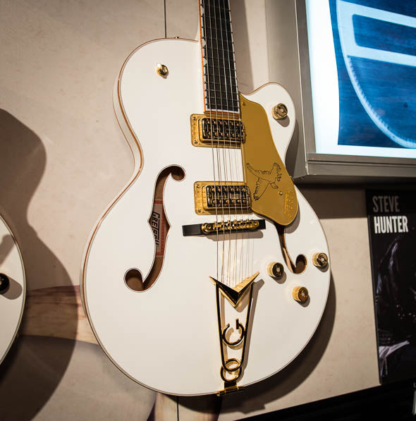 Big and Bold: The New Gretsch Center-Block White Falcon