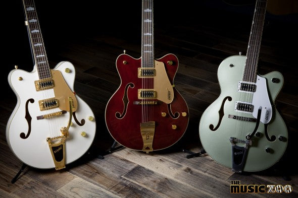 New At The Zoo! Gretsch Releases 2016 Electromatic Hollow Body Guitars!