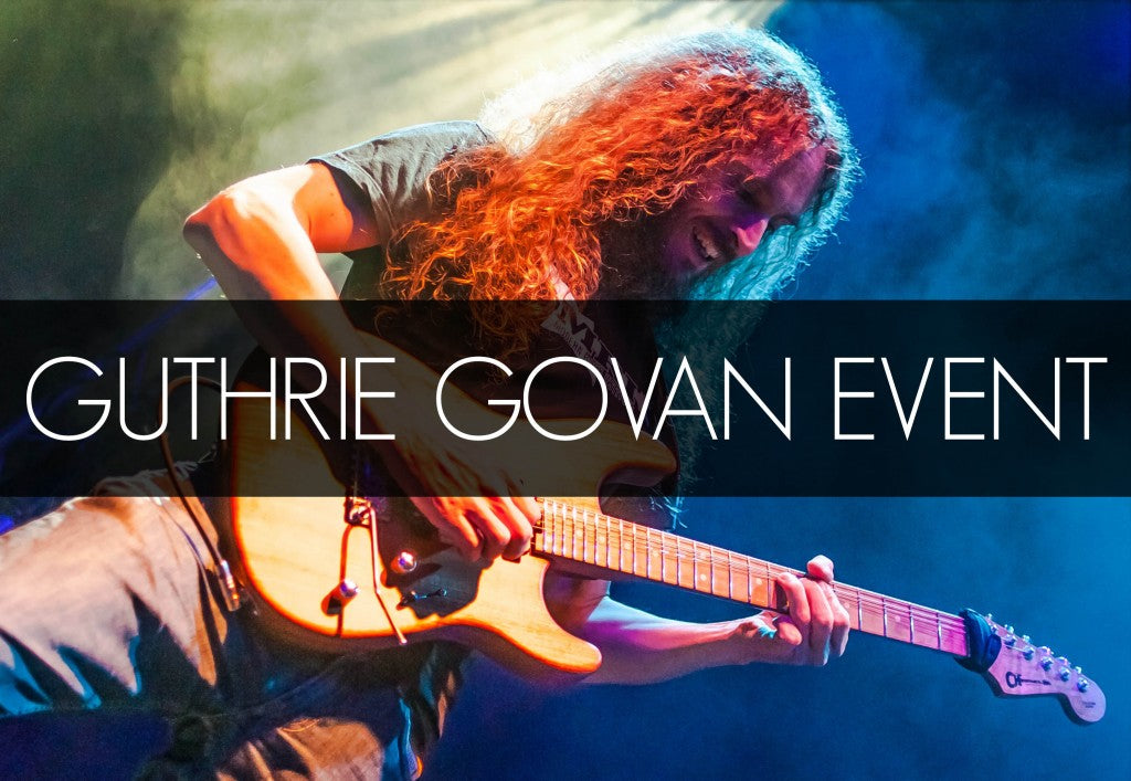 Guthrie Govan Masterclass And Event At The Music Zoo