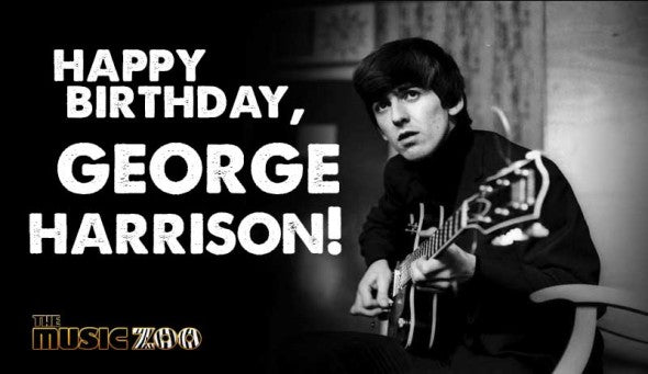 Happy Birthday George Harrison!