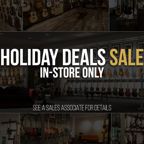Holiday Deals Sale In Store Only The Music Zoo