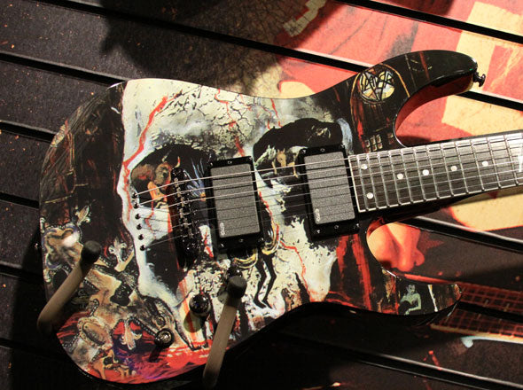 "Slayer ""South Of Heaven"" ESP LTD Guitar"